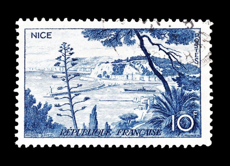 Portostämpel som skrivs ut av Frankrike royaltyfria foton