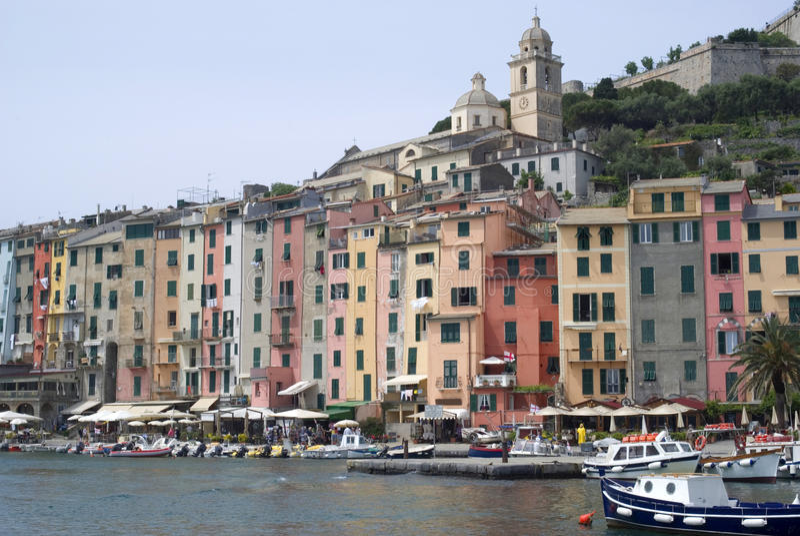 Download Portovenere stock photo. Image of harbour, fortress, castle - 14433840