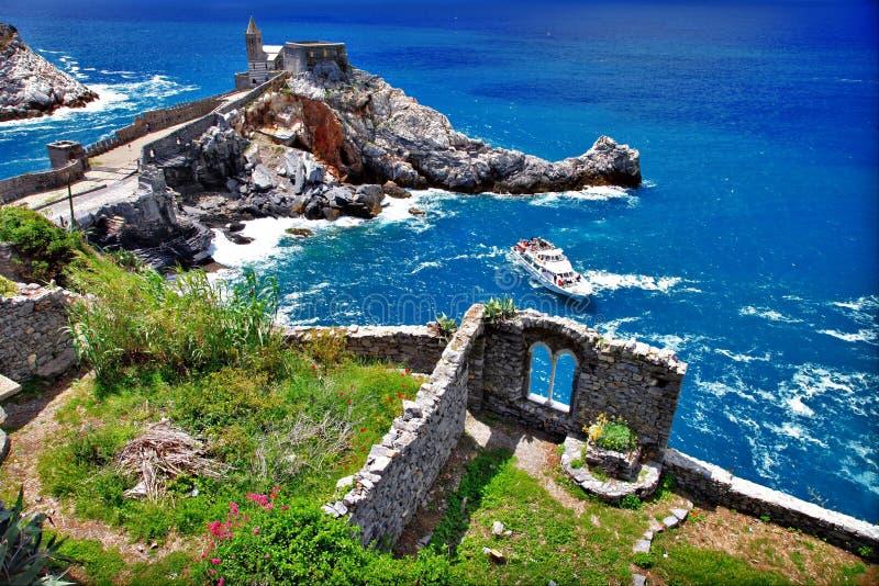 Download Portovenere stock image. Image of beach, headland, destinations - 26814535
