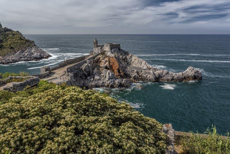 Portovenere, Cinque Terre, Italië royalty-vrije stock foto's