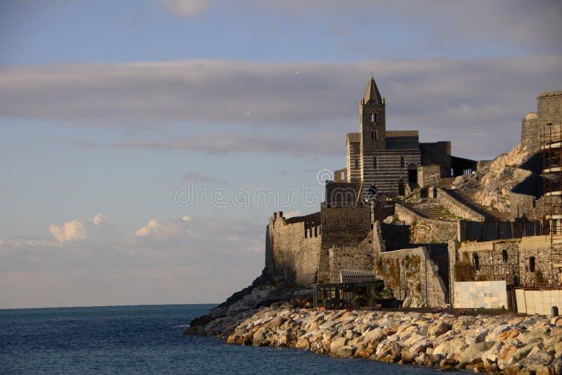 Portovenere Ligurien Italien stockbilder