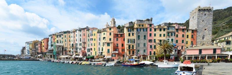 Portovenere, Włochy obraz stock