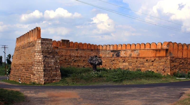 Portowa ściana zdjęcia stock