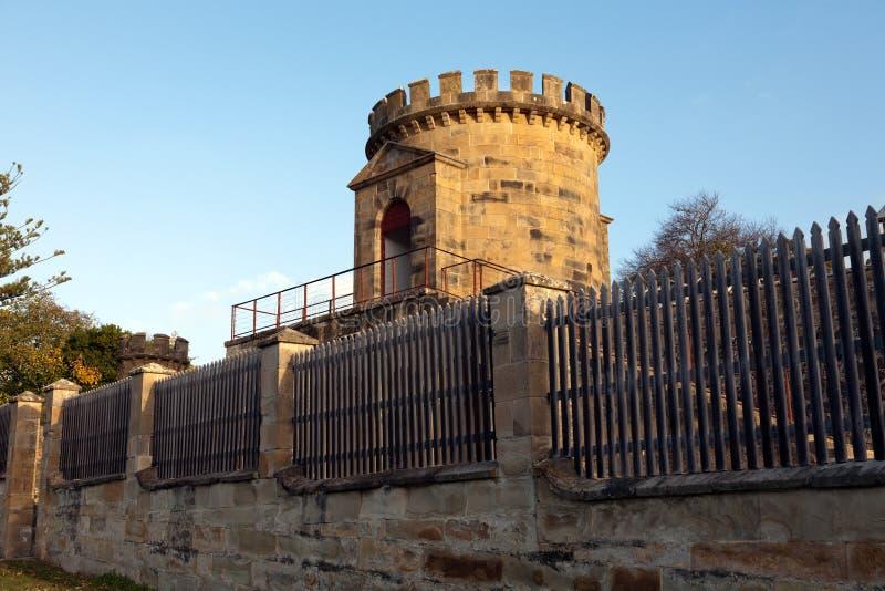 portowa Arthur wieża obserwacyjna zdjęcia stock