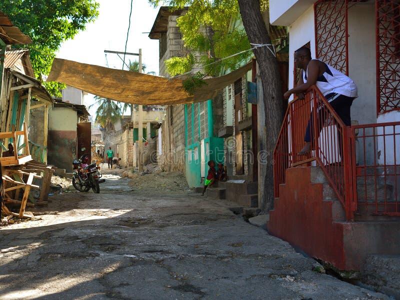 Portowa au książe stolica republika Haiti, obrazy stock