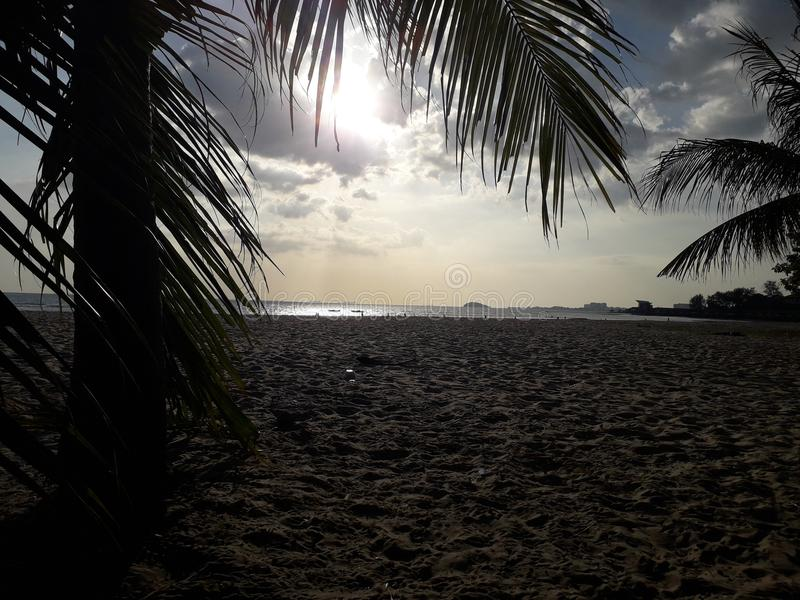 Portowa Dickson Malaysia plaża fotografia royalty free