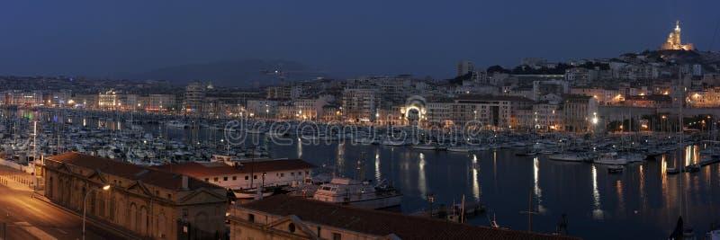 portowy De vieux France le Marseille obraz royalty free