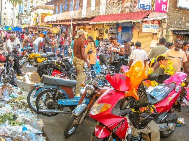 Portowy Louis Uliczny rynek zdjęcie stock