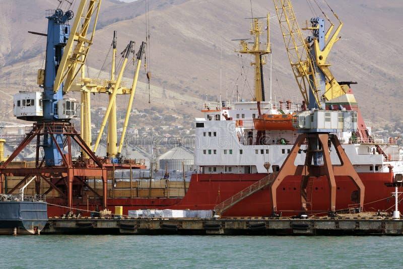 portowy statek zdjęcia stock