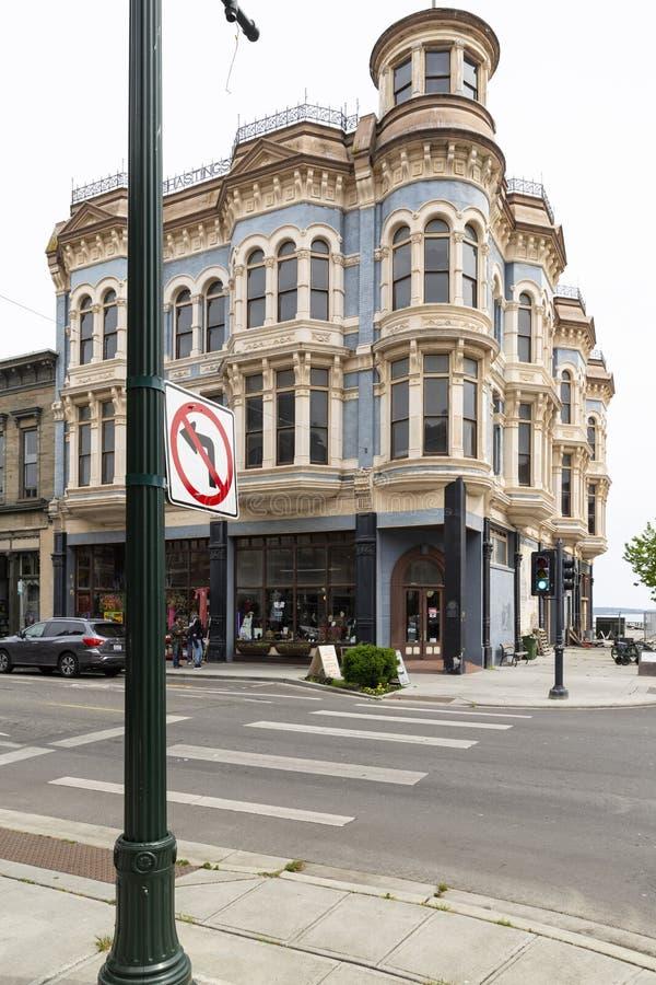 Portowy Townsend Hastings historyczny budynek fotografia stock