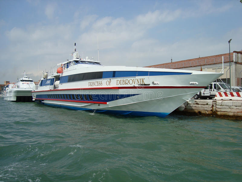 portowy Venice obraz stock