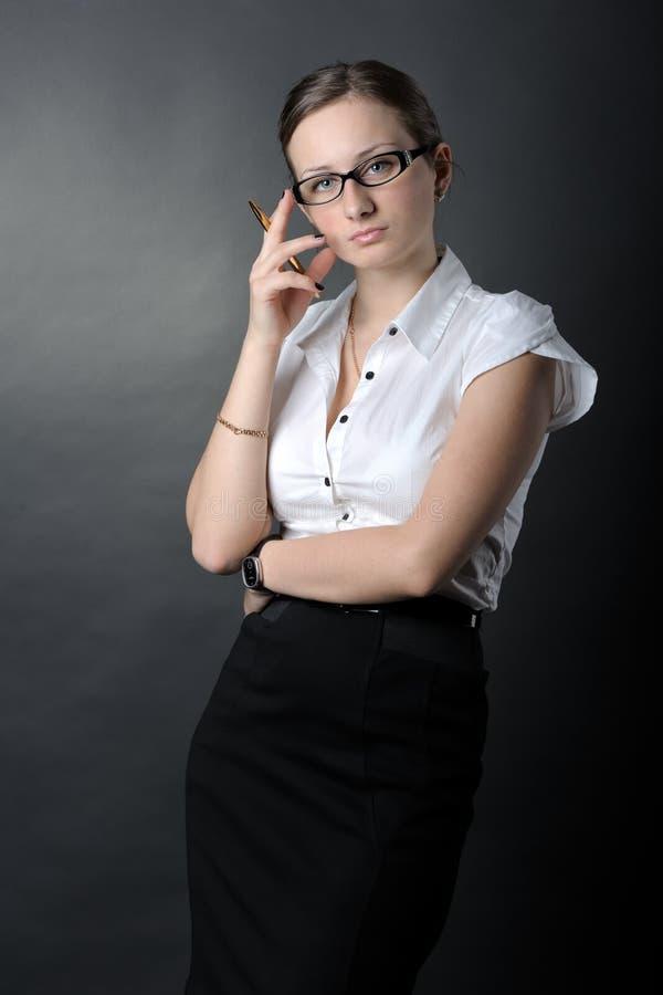 Porträt der Frau lizenzfreie stockfotografie