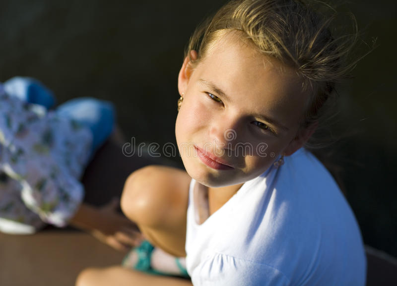 Porträt der Jugendlichen lizenzfreies stockbild