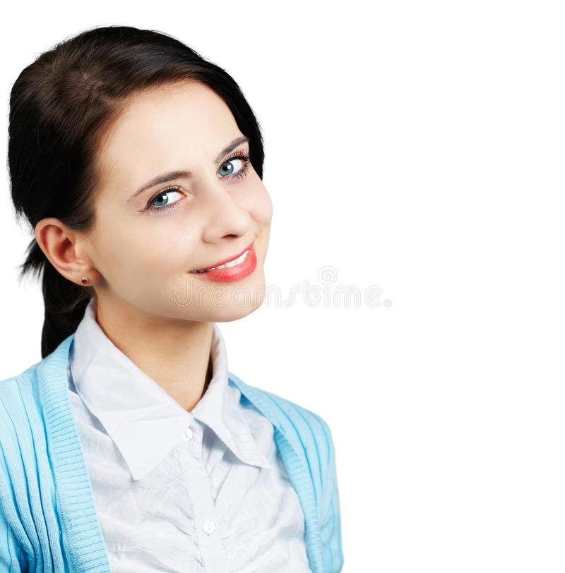 Porträt der jungen Frau lizenzfreies stockbild