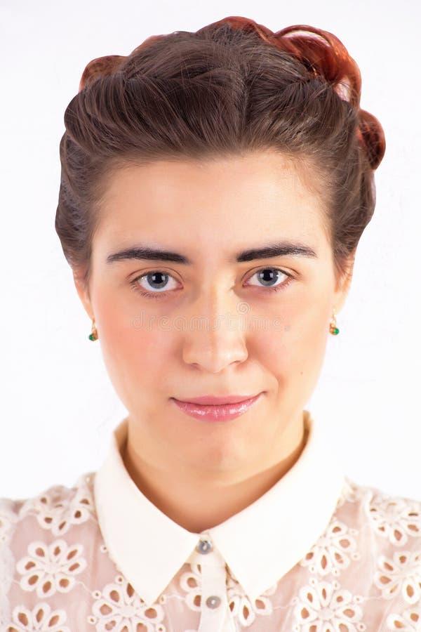 Porträt der jungen Frau lizenzfreie stockfotos