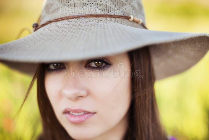 Frauenporträt lizenzfreie stockbilder