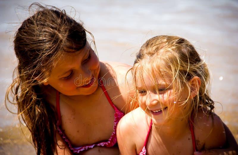 Porträt der kleinen Mädchen lizenzfreies stockfoto