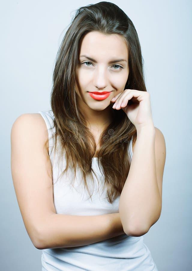 Porträt der sexy Frau lizenzfreie stockfotografie