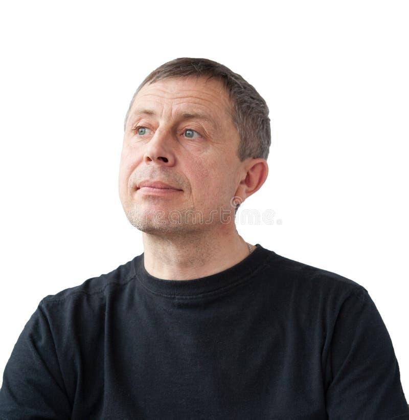 Porträt des erwachsenen Mannes stockfotos
