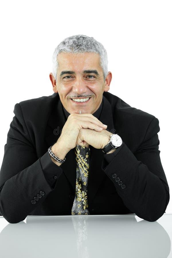 Porträt des Geschäftsmannes stockbild