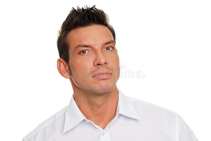 Porträt des gutaussehenden Mannes lizenzfreies stockfoto