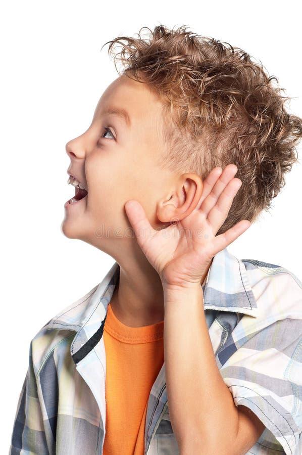 Porträt des Jungen lizenzfreies stockfoto