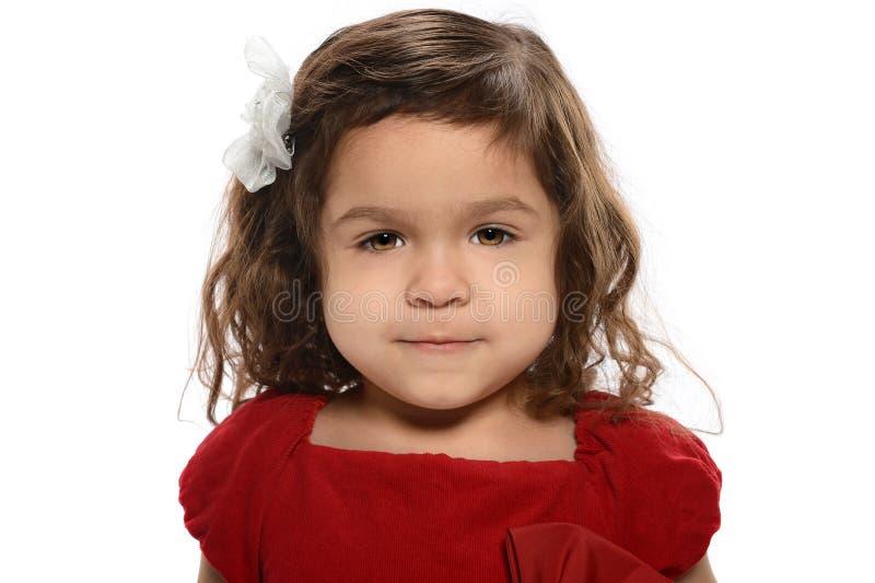 Porträt des jungen hispanischen Mädchens stockfotos