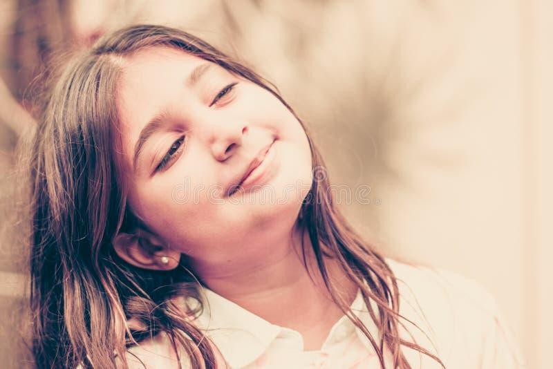 Porträt des Kindes stockfotografie