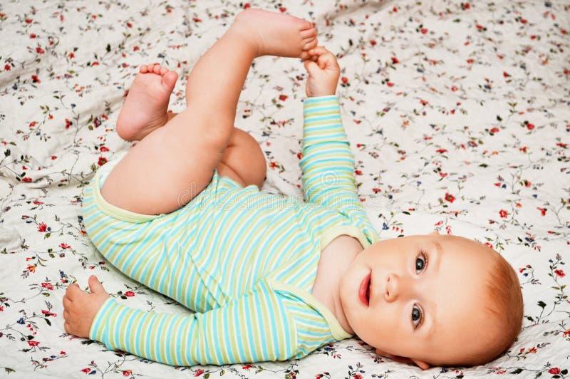 Porträt des netten Babys stockbilder