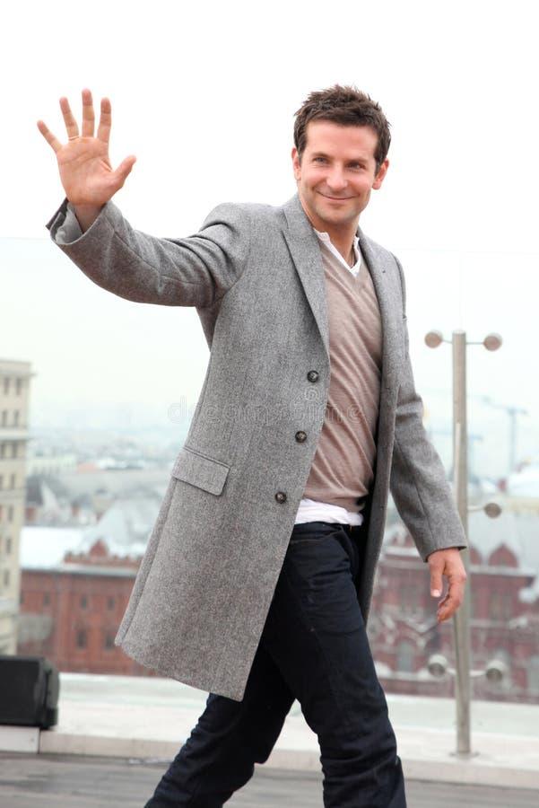 Porträt des Schauspielers Bradley Cooper lizenzfreies stockbild