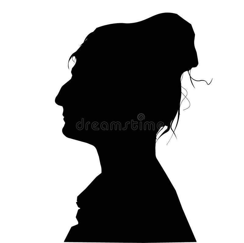 Porträt einer Frau lizenzfreies stockfoto