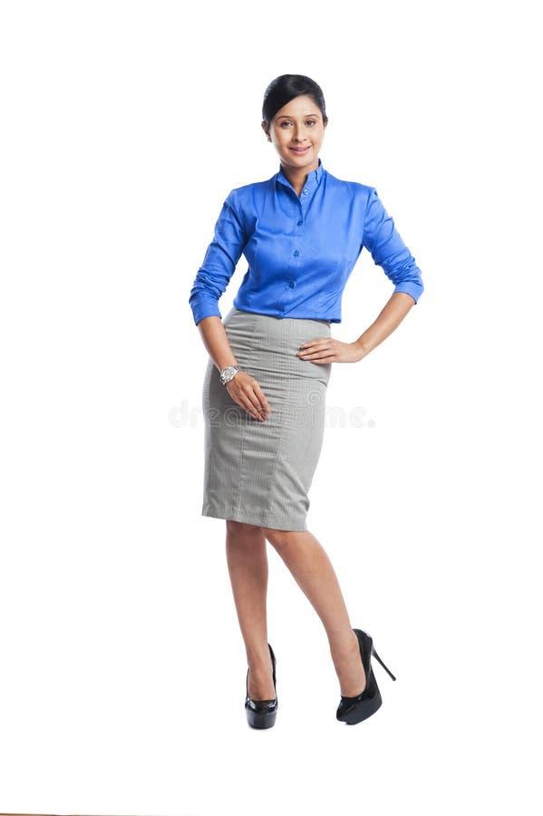 Porträt einer Geschäftsfrau stockbilder