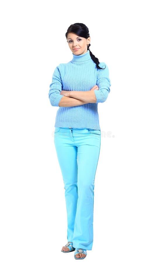 Porträt einer hübschen Geschäftsfrau stockfoto