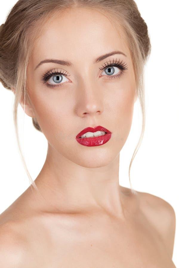 Porträt einer Schönheit stockfotos