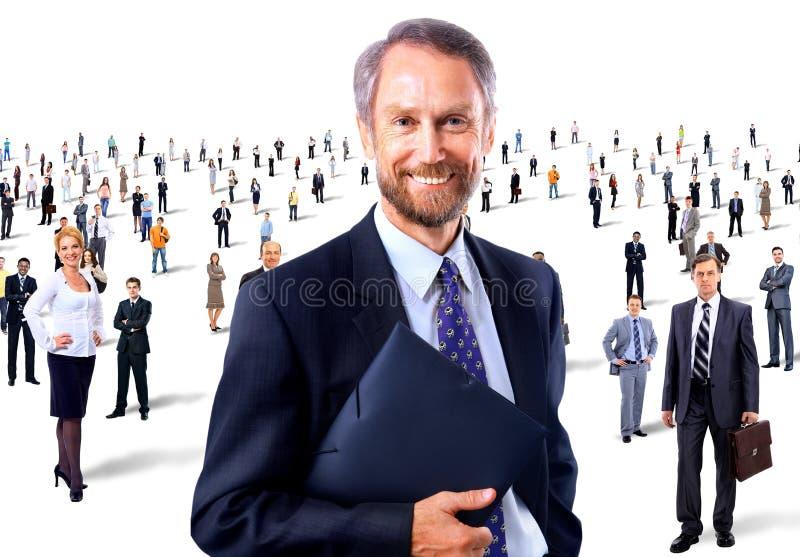 Porträt eines älteren lächelnden Mannes lizenzfreie stockfotos