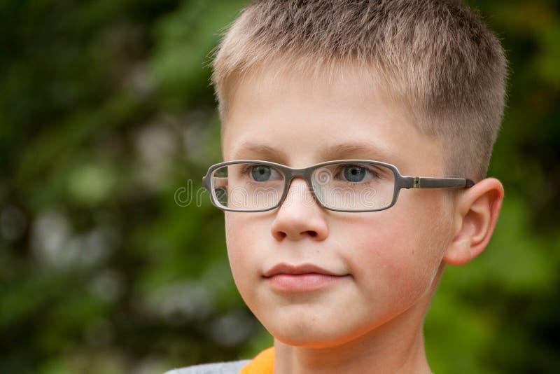 Porträt eines Jungen stockbilder