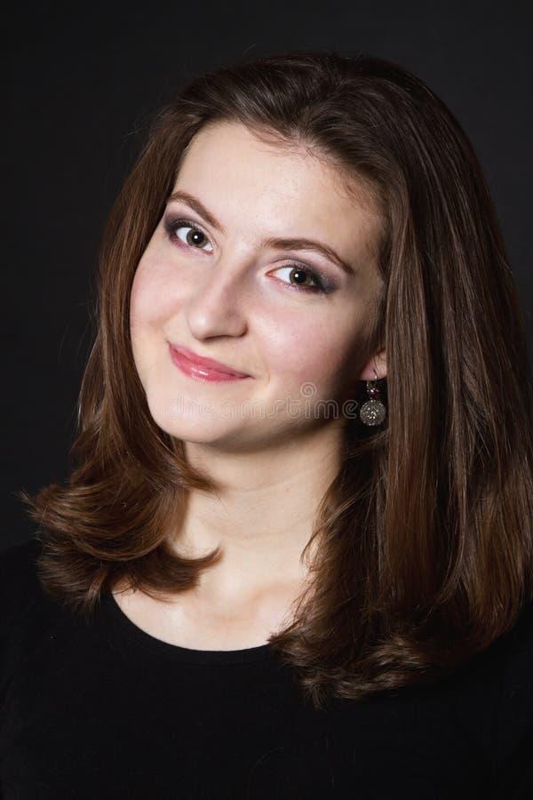 Porträt eines jungen Mädchens lizenzfreie stockbilder