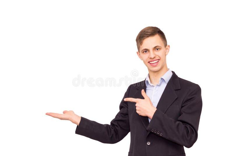 Porträt eines Kerls herein lizenzfreies stockbild