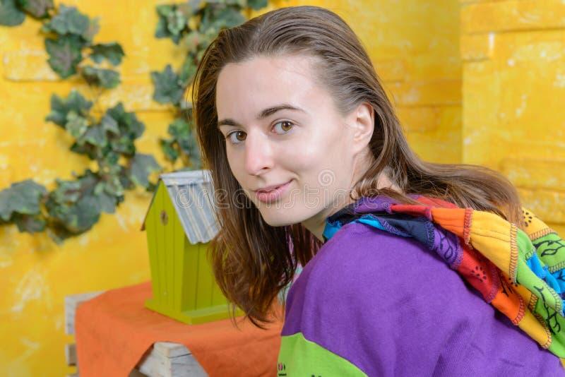 Porträt eines Mädchens lizenzfreies stockbild