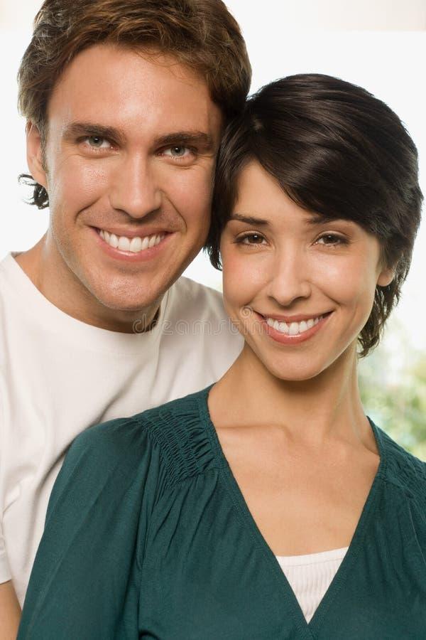 Porträt eines Paares stockfotografie