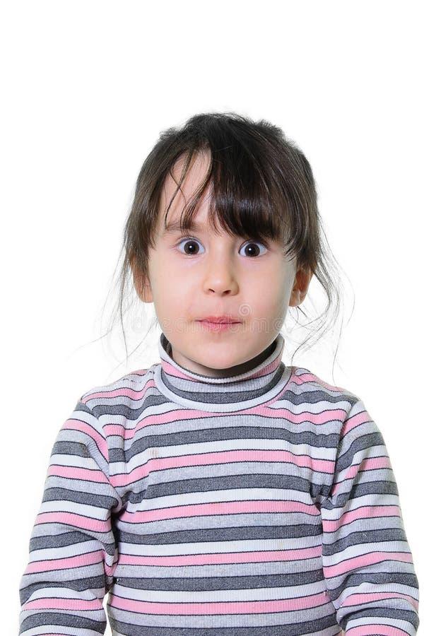 Porträt eines schönen kleinen Mädchens stockbilder