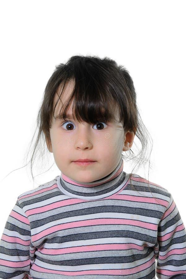 Porträt eines schönen kleinen Mädchens lizenzfreie stockfotografie