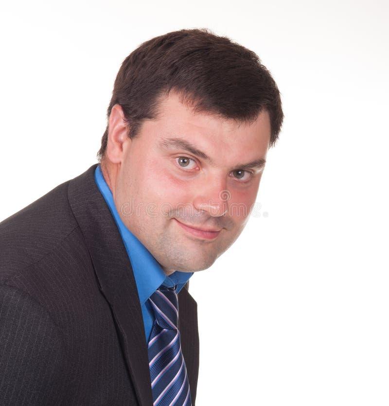 Porträt eines Unternehmers stockfotos