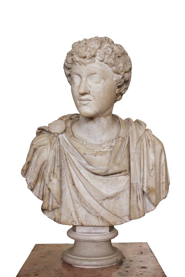 Porträt jungen Marcus Aurelius Emperors 161-180 A d , Einsiedlerei, St Petersburg, Russland stockfoto