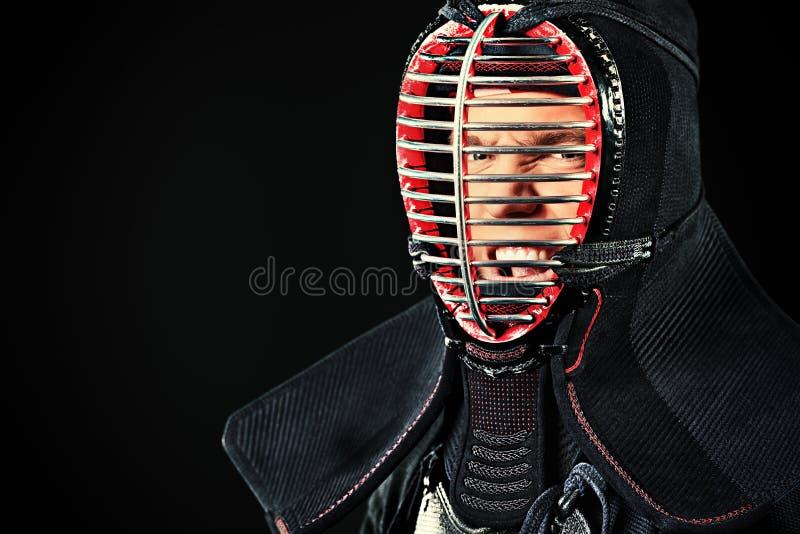 Porträt von kendo lizenzfreies stockbild