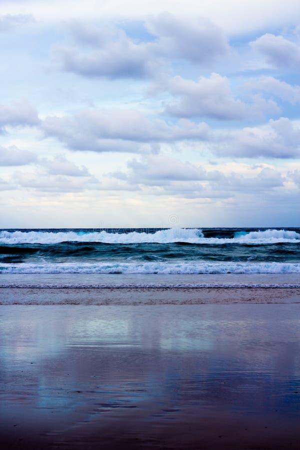 Porträt von Ozean lizenzfreie stockfotos