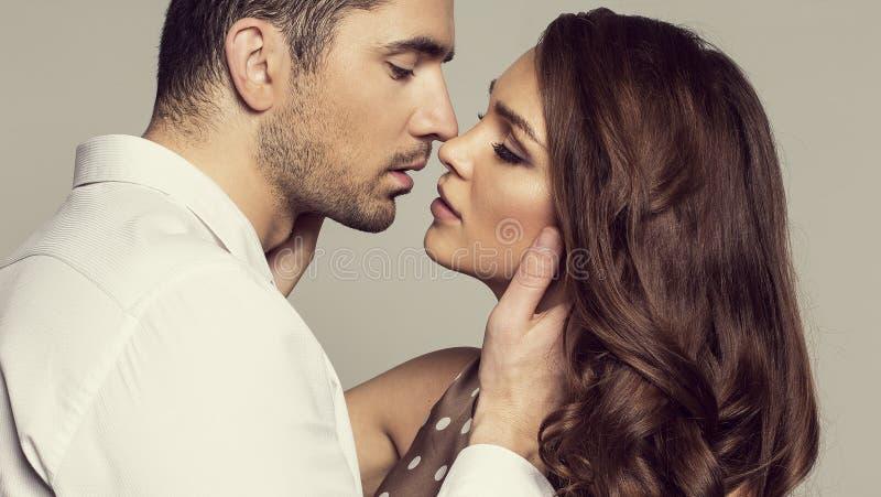 Porträt von romantischem stockfotografie