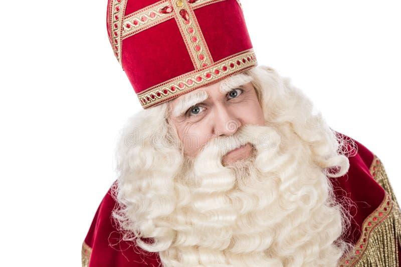 Porträt von Sankt Nikolaus stockfoto