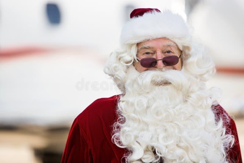 Porträt von Santa Claus lizenzfreies stockfoto