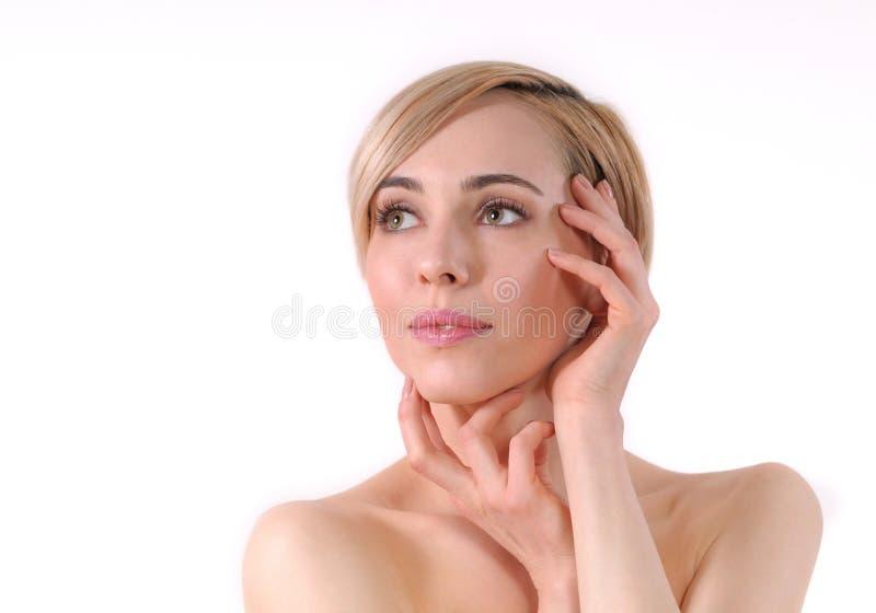 Porträt von Schönheitsfrauen stockfotografie